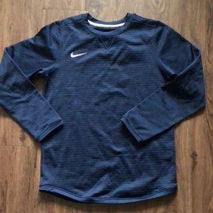 Nike Navy Long Sleeve Modern Crew unisex